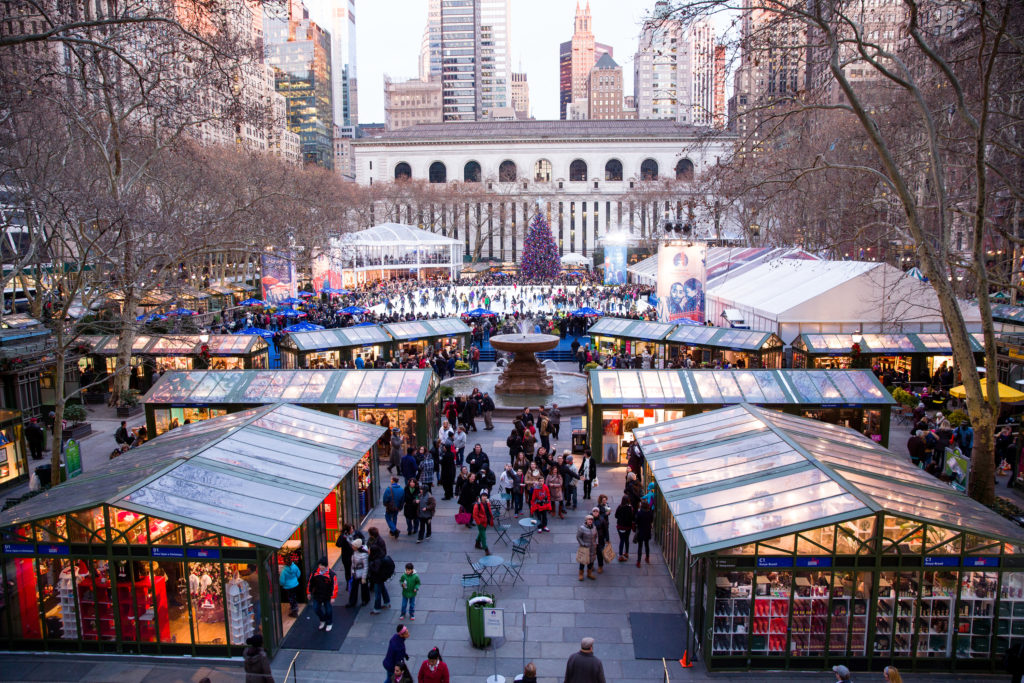 Things to do at Bryant park