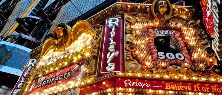 Ripley's believe it or not Museum, New York, Major Attractions at the Times Square